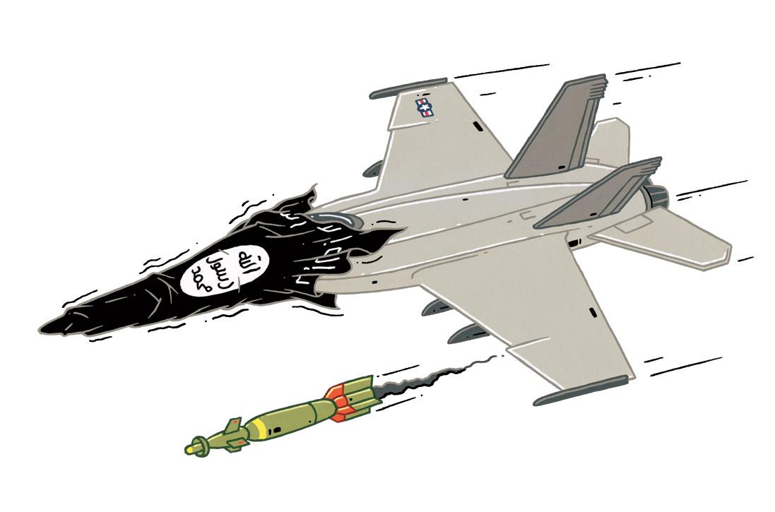 """""""Het offensief van de noodzaak tegen IS: waar beginnen we aan?"""""""