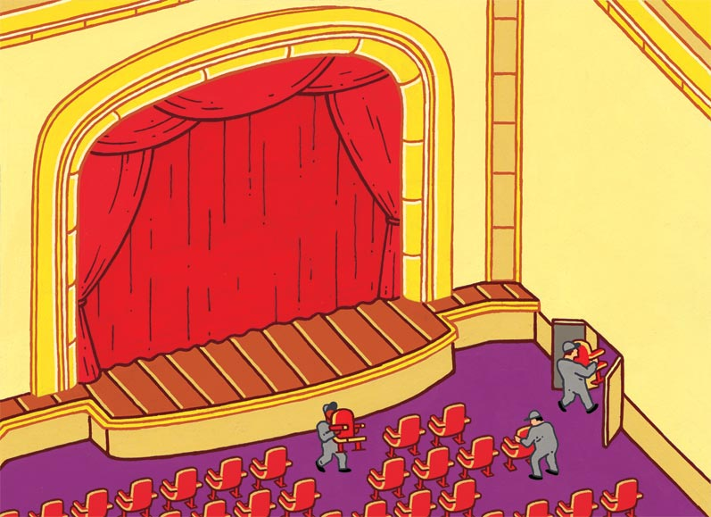 """Thinning Theater Attendance"""