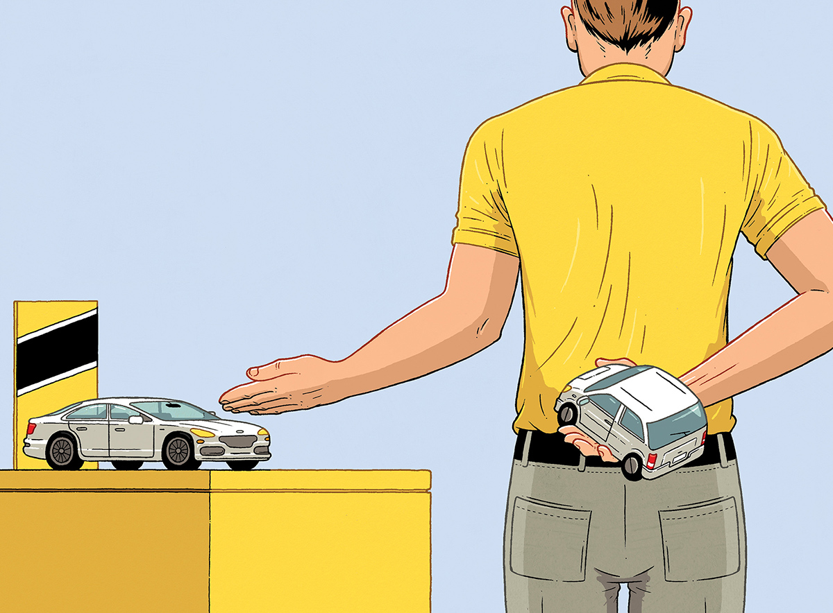 The sly tricks of car rental services